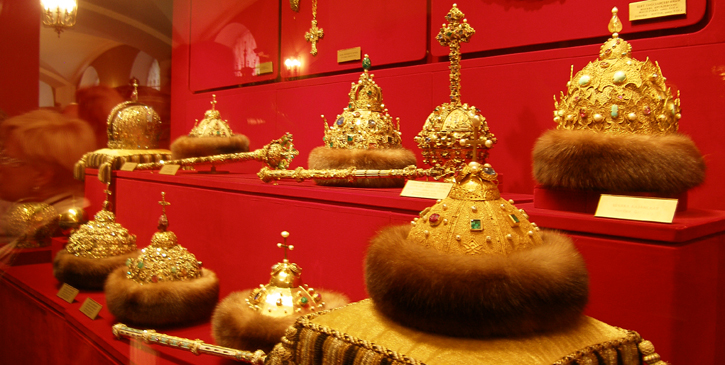 Czar's Treasures at Kremlin's Armory Museum