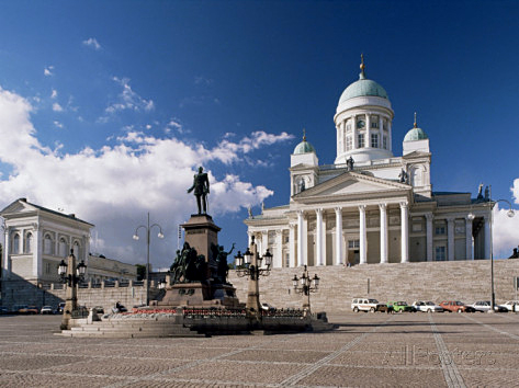 Lutheran Cathedral, downtown Helsinki