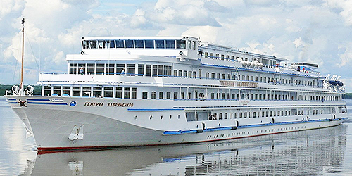 Cruise entire length of Volga aboard superior MS General Lavrinenkov, in season 2018