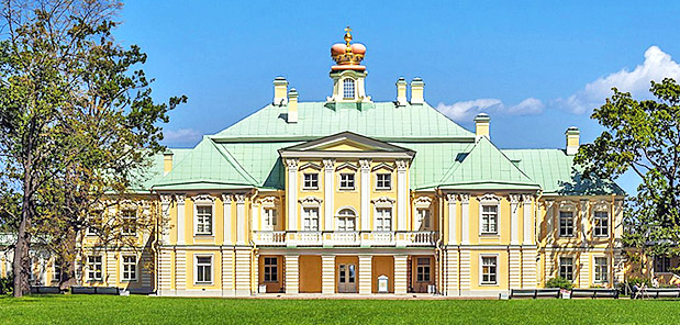 The Grand Menshikov Palace, Residence of Prince Menshikov, closest associate of Peter the Great, in Oranienbaum , west of St.Petersburg
