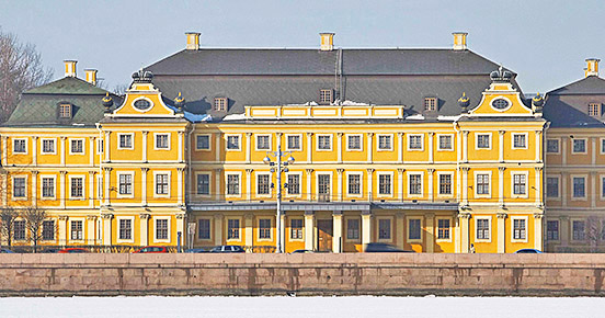Menshikov Palace, the first monumental residence built from stone in St. Petersburg, Branch of the Hermitage