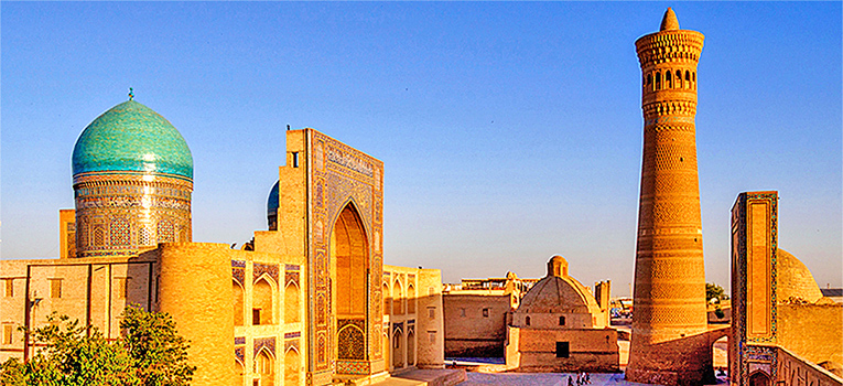 Historical landmarks of the ancient Silk Road route from China to the Mediterranean, Uzbekistand