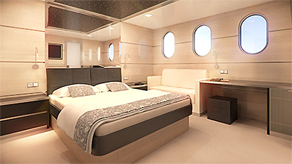 Adriatic Cruises, aboard MS Romantic Star, a double Cabin