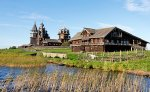 2018 Russia River Cruise: Kizhi Island, Open air Museum of Wooden Architecture, Onega lake, Northern Russia