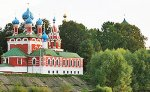 2018 Russia Luxury River Cruise: Church in town of Uglich, Golden Ring of Russia