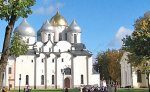 UNESCO World Heritage site, St Sophia Cathedral in the Kremlin, Novgorod Veliky, North West Russia