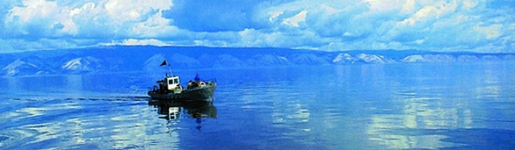 Lake Baikal, the deepest lake in the world. Its half-way through along legendary Trans-Siberian rail route. Worth a stopover!