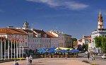 Downtown Vilnius